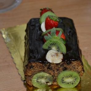 Κέικ με μπαχαρικά και σοκολάτα (νηστίσιμο και... απολαυστικό)