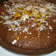 Light ζουμερό κέικ σοκολάτας